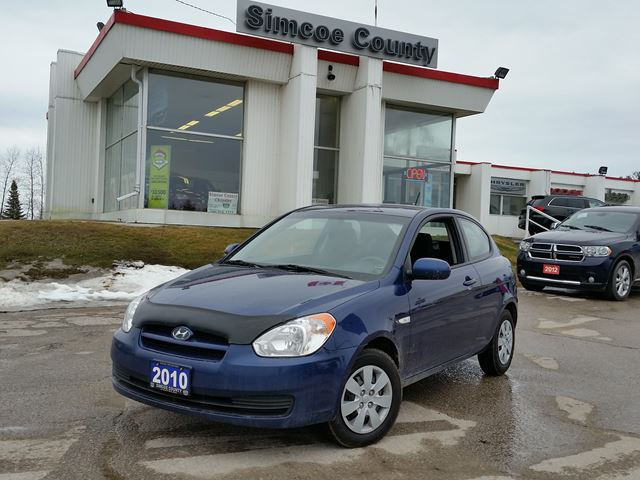2010 hyundai accent l blue simcoe county chrysler. Black Bedroom Furniture Sets. Home Design Ideas