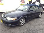 2002 Saab 9-3 SE, Automatic, Leather, Convertible, in Burlington, Ontario