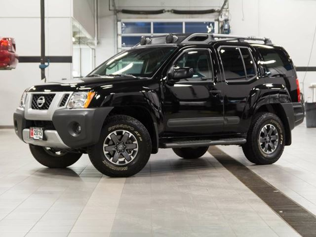 2015 nissan xterra pro 4x w leather kelowna british columbia used car for sale 2394714. Black Bedroom Furniture Sets. Home Design Ideas