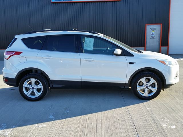 2013 ford escape se 4wd white len 39 s automotive performance inc. Black Bedroom Furniture Sets. Home Design Ideas