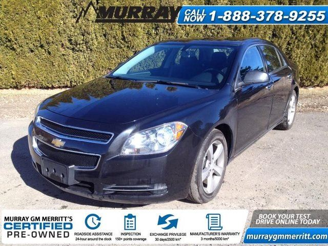 2012 Chevrolet Malibu LT in Merritt, British Columbia