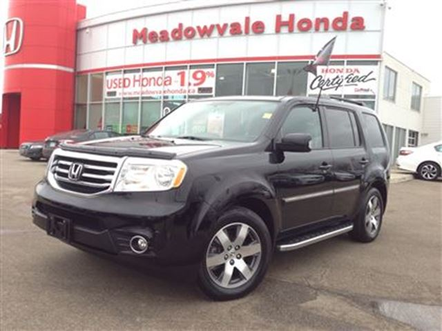 2014 honda pilot touring 4wd 5at black meadowvale honda. Black Bedroom Furniture Sets. Home Design Ideas