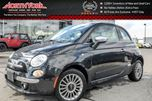 2012 Fiat 500 Lounge TomTom Nav Sunroof HTD Frnt Seats Blue&Me Connectivity Sat Radio 15 Alloys in Thornhill, Ontario