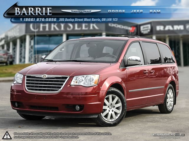 2010 chrysler town and country touring barrie ontario used car for sale 2397356. Black Bedroom Furniture Sets. Home Design Ideas