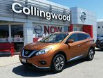 2016 Nissan Murano SL AWD w/NAV *NEW* in Collingwood, Ontario