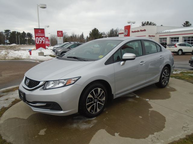 2015 honda civic ex pembroke ontario car for sale 2397505 for Honda civic 2015 for sale