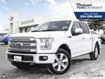 2015 Ford F-150 Platinum Crew *Htd&Cooled Leather/Moonroof/Nav* in Winnipeg, Manitoba