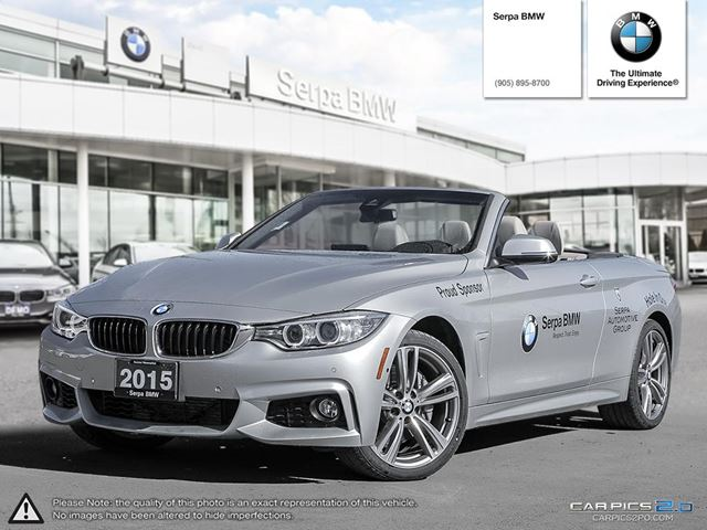 2015 BMW 435i xDrive Cabriolet in Newmarket, Ontario