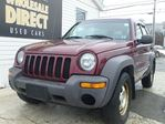2003 Jeep Liberty SUV 5 SPEED SPORT 4WD 2.4 L in Halifax, Nova Scotia