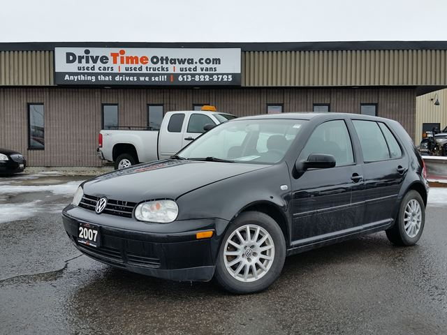 2007 Volkswagen City Golf  2.0 with MOONROOF/POWER GROUP/AC in Ottawa, Ontario