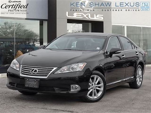 2012 lexus es 350 navigation hid headlamps black. Black Bedroom Furniture Sets. Home Design Ideas