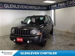 2015 Jeep Patriot Sport, Blacked out Wheels, One Owner, Carproof Cle in Oakville, Ontario