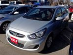 2014 Hyundai Accent Silver-GL, Bluetooth, Heated seats, Clean Carproof in Oakville, Ontario