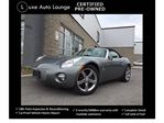 2006 Pontiac Solstice WOW! RARE!! ONLY 77K, LEATHER, CHROME WHEELS, POWER PACKAGE, 5-SPEED MANUAL, EXCELLENT CONDITION!! YOU CANNOT FIND THEM LIKE THIS ANYMORE!! in Orleans, Ontario