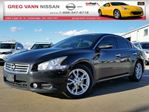2012 Nissan Maxima 3.5 SV w/all leather,pwr group,heated seats,climate control,rear cam in Cambridge, Ontario