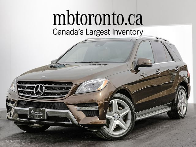 2013 mercedes benz ml350 bluetec 4matic citrine brown met. Black Bedroom Furniture Sets. Home Design Ideas