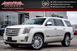 2015 Cadillac Escalade Platinum LOADED! 4WD Nav Rear Ent Pkg LED Headlights BlindSpot BOSE 22 Alloys in Thornhill, Ontario