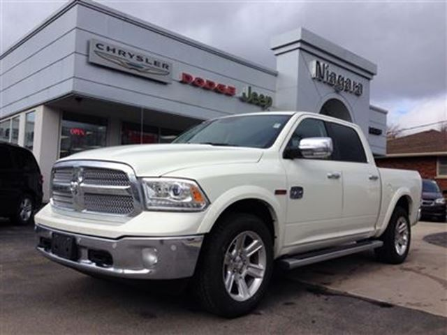 2016 ram 1500 longhorn leather 20 39 s ecodiesel white niagara chrysler. Black Bedroom Furniture Sets. Home Design Ideas