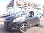 2013 Chevrolet Spark 2LT / LEATHER / SUNROOF/ AUTO in Mississauga, Ontario