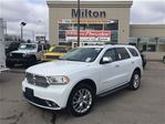2015 Dodge Durango CITADEL AWD LEATHER SUNROOF 8.4 NAVIGATION DVD in Milton, Ontario