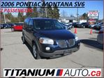 2006 Pontiac Montana SV6 7 Passengers+Leather Seats+Cruise Control+One Owne in London, Ontario