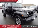 2014 Jeep Wrangler Unlimited Rubicon w/ Leather Interior & Navigation in Surrey, British Columbia