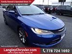 2015 Chrysler 200 S w/ Leather Interior & Navigation in Surrey, British Columbia