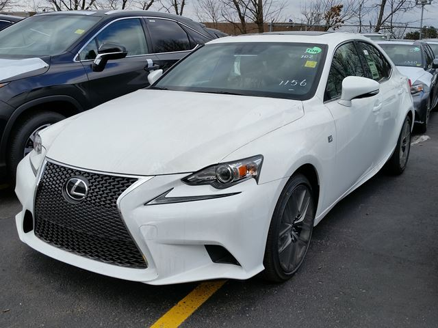2016 lexus is 300 f sport series 1 white erin park lexus. Black Bedroom Furniture Sets. Home Design Ideas