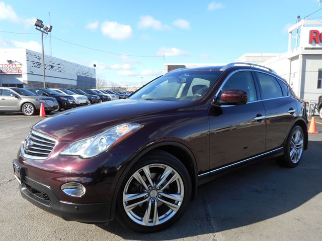 2012 infiniti ex35 awd navi full camera tech pkg red rogers motors. Black Bedroom Furniture Sets. Home Design Ideas