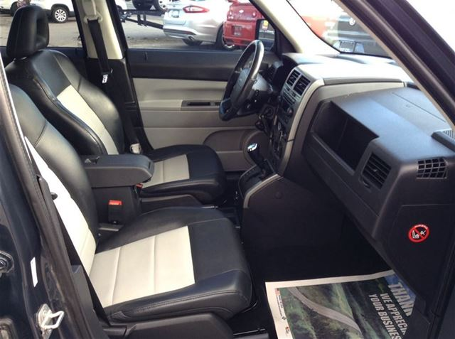 2007 Jeep Patriot Limited Leather Sunroof Heated Seats Green Tip Top Auto
