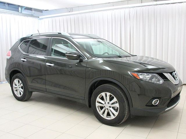 2015 nissan rogue sv awd pure drive suv green dark o 39 regan 39 s nissan infiniti. Black Bedroom Furniture Sets. Home Design Ideas
