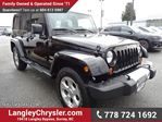 2013 Jeep Wrangler Unlimited Sahara in Surrey, British Columbia