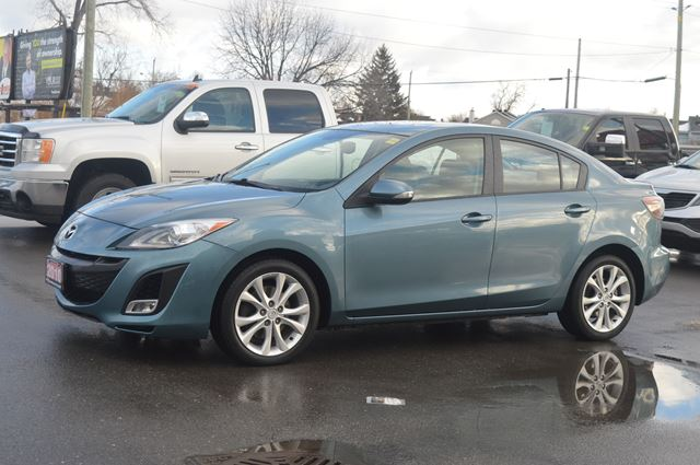 2010 Mazda Mazda3 Gt Blue Car On Auto Sales Wheels Ca