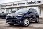2016 Jeep Cherokee Limited 4x4 Navi Baclup Cam Bluetooth R-Start Leather Heated Front Seat 18Alloy Rims in Bolton, Ontario