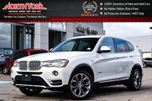 2016 BMW X3 xDrive28i Nav Sunroof Backup Cam Xenons Cold Weather Grp Bluetooth Keyless_Go 19 Alloys in Thornhill, Ontario