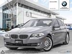 2011 BMW 5 Series 535i xDrive ACCIDENT FREE! Executive Package! in Winnipeg, Manitoba