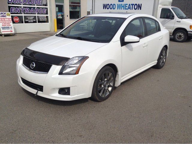 2012 NISSAN SENTRA 4DR SD I4 MT SE-R V in Prince George, British Columbia