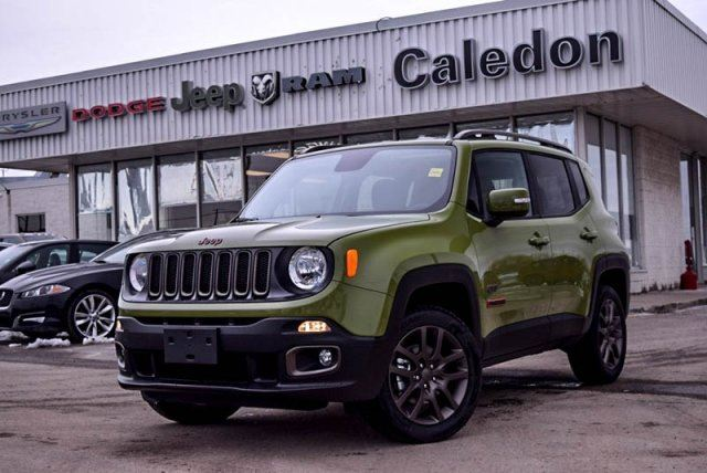 2016 jeep renegade 75th anniversary 4x4 sunroof backup cam. Black Bedroom Furniture Sets. Home Design Ideas