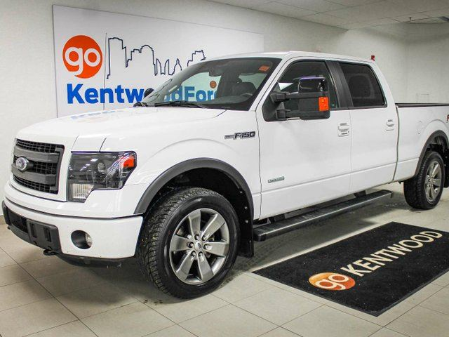 2014 ford f 150 fx4 white kentwood ford. Black Bedroom Furniture Sets. Home Design Ideas