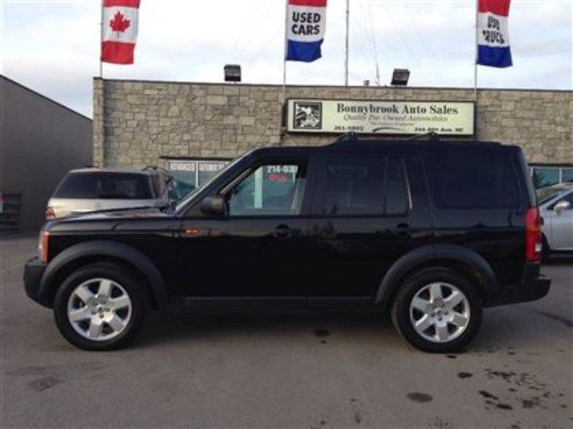 2008 land rover lr3 hse black bonnybrook auto sales. Black Bedroom Furniture Sets. Home Design Ideas