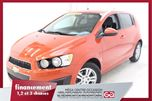 2012 Chevrolet Sonic LS *COULEUR ORANGE+ A/C + Tn++Ln++-Dn++VEROUILLAGE +  in Terrebonne, Quebec
