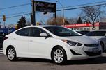2015 Hyundai Elantra ONLY 54K! **RARE WHITE** GL MODEL *HEATED SEATS* in Scarborough, Ontario