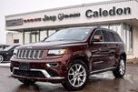 2015 Jeep Grand Cherokee Summit 4x4 Dual Pane Sunroof DVD Backup Cam Bluetooth R-Start 20Alloy Rims in Bolton, Ontario