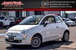 2016 Fiat 500 Lounge NEW Convertible Bluetooth Sat Radio HTD Frnt Seats RR Park Sensors 15 Alloys in Thornhill, Ontario