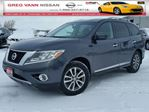 2014 Nissan Pathfinder SL FWD w/heated seats,all leather,pwr group,rear cam,climate control in Cambridge, Ontario