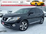 2013 Nissan Pathfinder Platinum 4WD w/all leather,NAV,rear cam,climate control,heated/cooled seats in Cambridge, Ontario