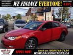 2005 Saturn ION 3 Uplevel NO CREDIT CHECK IN HOUSE LEASING in Hamilton, Ontario