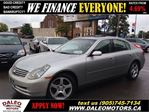 2003 Infiniti G35 Luxury 159KM, 1 OWNER in Hamilton, Ontario