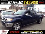 2010 Nissan Frontier LE 4X4 V6 1 OWNER LEATHER SUNROOF in Hamilton, Ontario