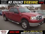 2007 Ford F-150 XLT CREW CAB 4X4 BEDLINER in Hamilton, Ontario